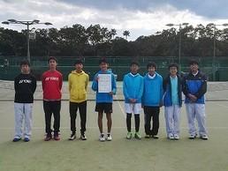 中学テニス、男女とも大健闘!