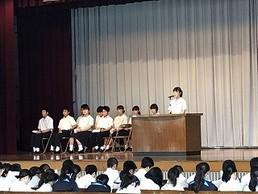 校内英語弁論暗唱大会
