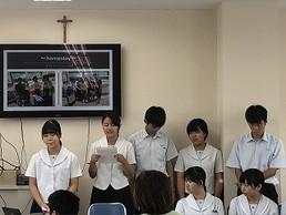 フィリピン姉妹校交流プログラム報告会