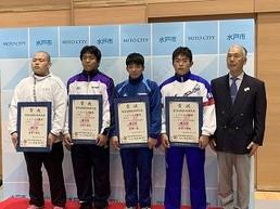 レスリング、飯沼君、国体で5位入賞!