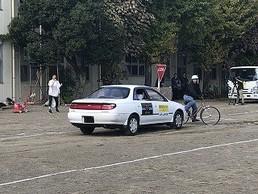 自転車安全教室